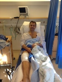 Siggy in hospital